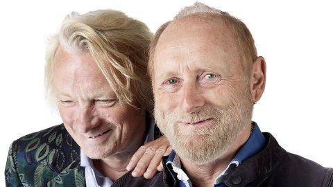 Jan Eggum og Halvdan Sivertsen kommer til Nordstrand i helgen.