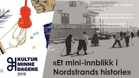 Gratis forestilling på Nordstrand skole 12. september kl. 18:30. Åpen for alle.