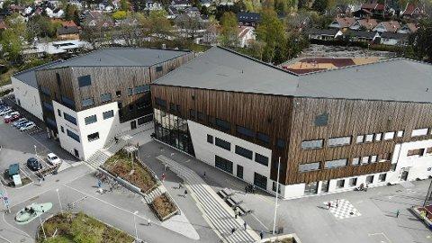 RØDT NIVÅ: Munkerud skole vil bruke morgendagen på planlegging og organisering.