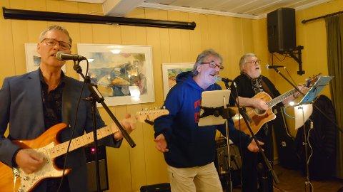 """Evig Ung Trio"": Johnny Sørhuus (f.v.), Arild Rønsen og Tommy Merg."