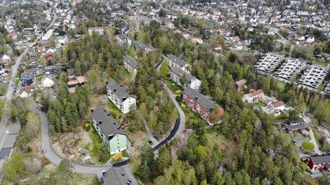 MIDTÅSEN: Nobil Eiendom ønsker å bygge ut denne tomten på Midtåsen med flere hundre boliger. Øvre Ljan Boliglag ønsker å bevare området slik det er. Nå åpner partene for å finne et kompromiss.