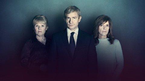 Martin Freeman har hovedrollen i NRK's påskekrim, Tilståelsen. Foto: ITV.