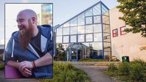 HJERTESAK: Miljøterapeut Kim Føleide har jobbet på Lofsrud skole hvor skytingen fant sted de siste seks åra. Hans hjertesak er flere oppholdssteder til bydelens unge.