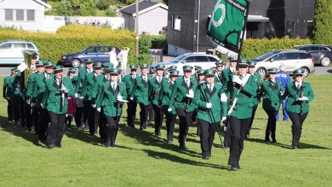Østre Aker Musikkorps er tilbake på banen igjen. Foto: Privat
