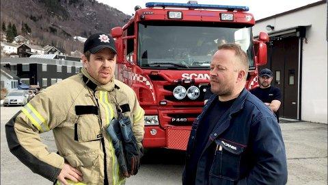 Guttakrutt: Arne Sæther og Kai Josten skal ha for skuespillerprestasjonene sine i dette videointervjuet.