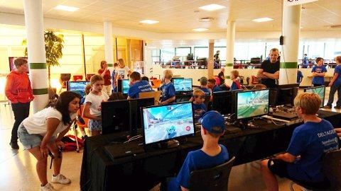 N-games: samla over 400 unge norddøler