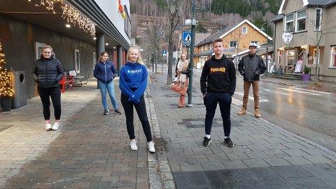 Emilie Bakke, Lina Brenden, Amalie Solberg, Synne Løvli Haugen, Jens Lyngved, Odin Steen Kristiansen gler seg til UKM.