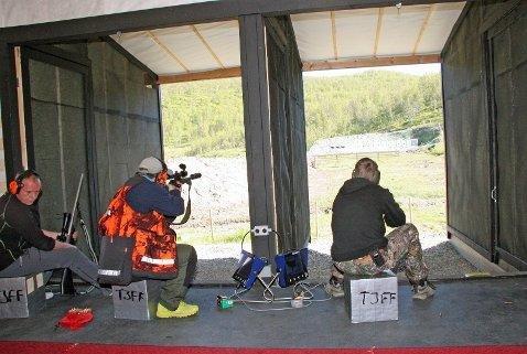 Skytebanen i Kjoselvdalen brukes i dag til rifleskyting. Nå skal det bygges ny skytebane.