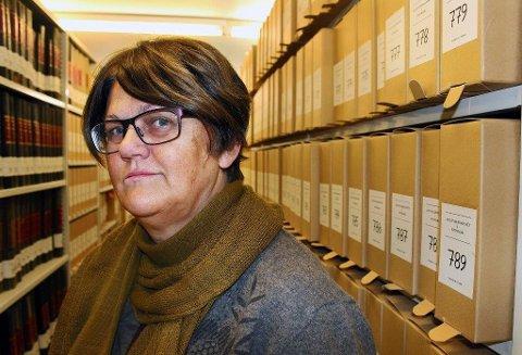ET KLENODIUM: - Det historiske brevet er et klenodium. Det er veldig beklagelig at det har blitt borte i postgangen, sier Solbjørg Ellingsen Fossheim.