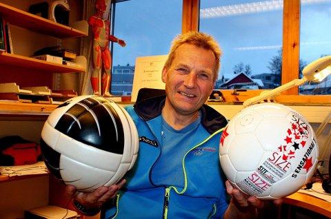 PORTUGISISK INSPIRASJON: Førsteamansuensis i idrett ved Universitetet i Tromsø, Svein Arne Pettersen, har endret syn på spillerutvikling etter ett år i Portugal. - Vi har for lite spillrelatert trening i Norge, sier Pettersen.