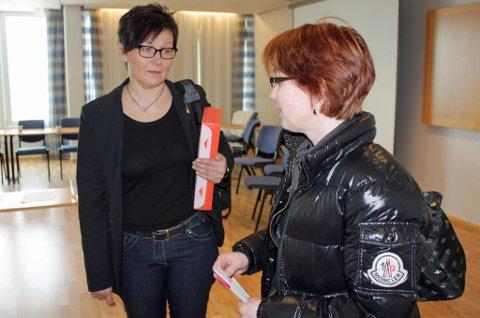 Kirsti Skog, her sammen med tidligere skøytepresident Vibecke Sørensen, var nestleder i Troms Idrettskrets inntil april i år. Foran styremøtet i idrettskretsen 12. mars prøvde Skog å få Troms Idrettskrets til å snu i OL-spørsmålet, noe de øvrige i styret ikke ønsket. Skog er for øvrig styremedlem i Norges Idrettsforbund. Hun har allerede gitt valgkomiteen beskjed om at hun ikke fortsetter.