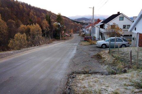 FROST: Torsdag morgen var det frost på bakken i Tromsø.