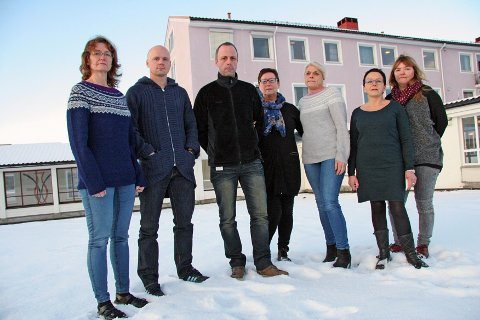 ROP-TEAM: For fjerde gang trues Rus og Psykiatriposten ved UNN med nedleggelse. Marit Johansen (fagutviklingssykepleier, Stig Tennås (overlege avdeling for rusbehandling), Jan-Frode Josefsen (avdelingssykepleier),Vigdis Røberg (Fagforbundet, tillitsvalgt på ROP), Elin Hestdal (sosionom), Marit Johansen (fagutviklingssykepleier) ogLise Olsen(verneombud).
