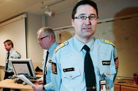 MÅ FÅ HJELP:  Politimester Ole B. Sæverud sier han ikke vil legge seg opp i hvordan UNN organiserer seg. -  Men om denne pasientgruppen får et dårligere tilbud, om færre får hjelp, da går det utover vårt arbeid.