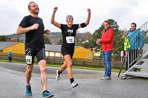 VANT ULTRASEIG KONKURRANSE: Guro Skjeggerud fra Tromsø gikk til topps i Halden Ultraintervall. Et løp med åtte miløp i løpet av et døgn, med start hver tredje time.