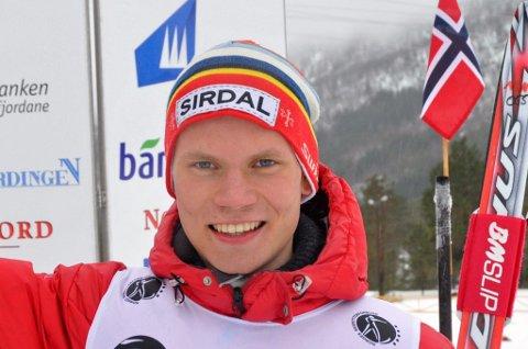 FEILFRITT: Marius Norø Ingebrigtsen ble nummer fire i Norgescupen i skiskyting søndag.