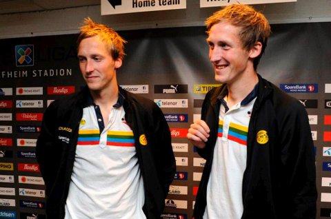 TIL HVER SIN 1.DIVISJONSKLUBB? Thomas Braaten (t.v) er klar for Hønefoss. Tvillingbror Vegard Braaten (t.h) kan fort havne hos en opprykkskonkurrent.