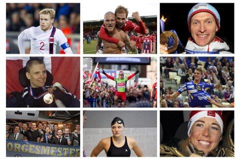 KANDIDATER? Hvem fortjener å vinne årets nordnorske idrettsnavn? Din stemme avgjør.