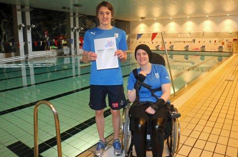 Tromsø Svømmeklubb er glad for økningen i tilskuddet til funksjonshemmede, der de har Adam Ismael Wenham og Ingrid Thunem som svært fremtredende utøvere.