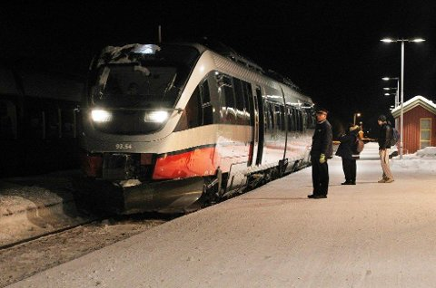 ISHAVSBANE: Togforbindelse mellom Finland og Norge i nord er nå høyaktuelt. Bjørn Inge Mo mener Skibotn og Tromsø er det beste alternativet på norsk side.