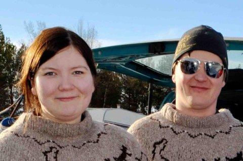 Jim-Ove Pedersen (36) og Silje Holmen Larsen (23)  trener målbevisst mot Finnmarksløpet.