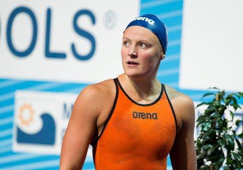 Susann Bjørnsen svømte VM-finale.