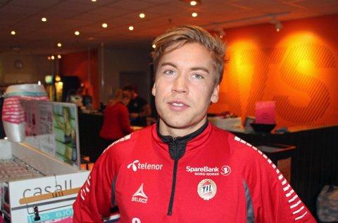 FERDIG I TIL? Thomas Kind Bendiksen har ikke avklart sin klubbfremtid. Men TIL regner ikke med midtbanespilleren i 2015, i og med at han ikke har signert ny kontrakt med klubben.