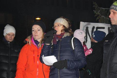 Kristin Johannessen og Marit Johansen fra Rus-og psykiatriposten på Åsgård.