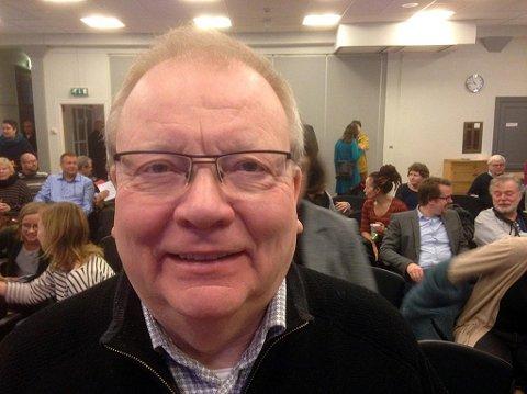 LEDER I NORD: Kai Krogh leder interimstyret som forbereder dannelsen av et lokallag av Åpen folkekirke i nord. Lørdag var han på årsmøte i Oslo i organisasjonen nasjonalt.
