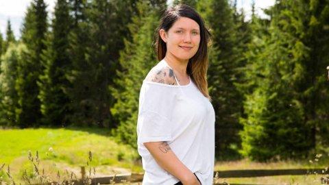 VANT TVEKAMP: Anja Jenssen fra Alta deltar i tv-programmet Farmen.