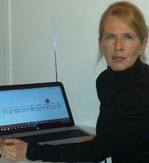Kristin Josefine Solstad står bak Kunstcentralen Nord, som jobber for å koble næringslivet og kunst- og kulturfeltet.