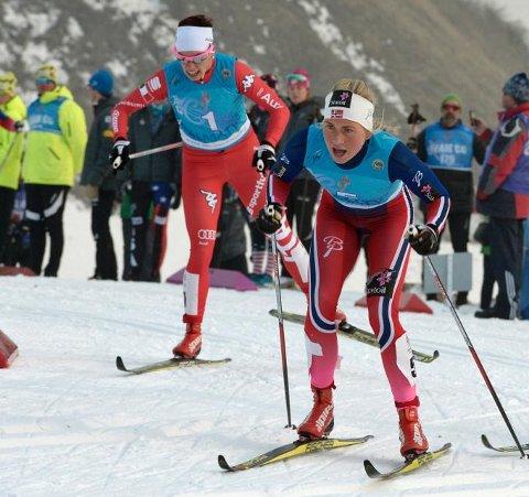 Silje Theodorsen ble nummer fem på 10 kilometer fri teknikk i U23-VM. Foto: almatyjwsc2015.com