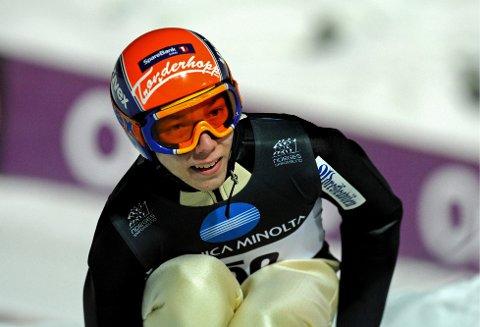 Johann Forfang kjemper om VM-gull. Foto: Scanpix