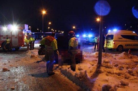 FIKK REKORDERSTATNING: En 21 år gammel tromsømann har fått utbetalt 21 millioner kroner i erstatning fra forsikringsselskapet If etter en trafikkulykke i Tromsø i 2013.