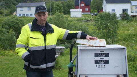 Roar Posti i Bergsfjord er uten drivstoff. FOTO: PRIVAT