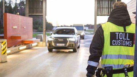 KAN LESE SKILT: Endringer i tolloven klargjør at Tolletaten kan innhente opplysninger om grensekryssende trafikk ved bruk av skiltgjenkjenningssystem.