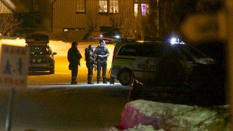 POLITIAKSJON: Politiet aksjonerte torsdag ettermiddag med våpen mot en bolig i Nordreisa. Først i 21.30-tiden torsdag kveld ble aksjonen avsluttet da en person ble pågrepet. Pågripelsen beskrives som udramatisk.