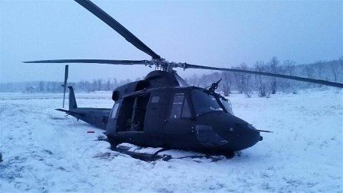GRANSKES: Uhellet ved Krokbekktjønn på grensen mellom Målselv og Sørreisa granskes nå av en undersøkelsesoffiser, opplyser Luftforsvaret.