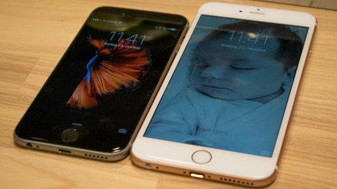 Har nettopp justert ytelsen på iPhone 7.
