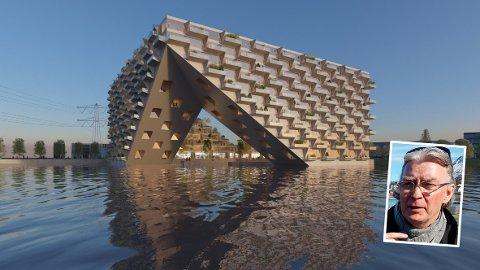 INSPIRASJON: Øystein Nermo henter blant annet  inspirasjon fra et planlagt prosjekt i Nederland.