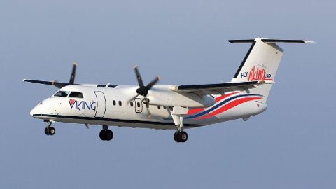 NYTT FLY: Det nyoppstartede selskapet FlyViking utvider hangaren med ett nytt fly.