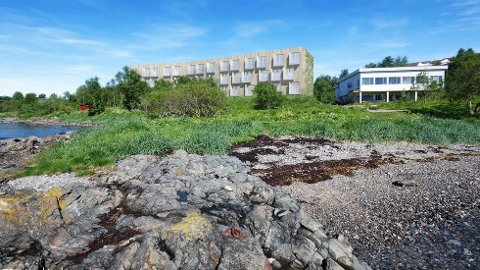 HOTELLPLAN: Her er hotellet Total Prosjekt har søkt om å bygge. Nå er det ny strid om erstatningen kommunen eventuelt skal gi for eiendommen.