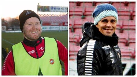 AVKLARTE TING: Tom Høgli (til venstre) og Simo Valakari diskuterte avskjedskampen til førstnevnte allerede for flere uker siden. - Med de ordene han sa, så trengte ikke jeg å si noe mer, sier Valakari.
