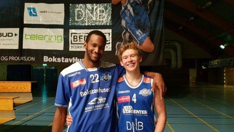 Storms nye drømme-duo? Cameron Gregory og Johannes Rydningen Lange hadde en fenomenal kamp med hele 62 poeng delt dem imellom. Foto: Vincent Heinke