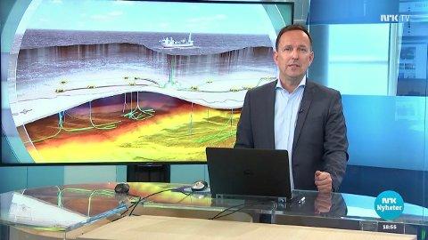 URIKTIG BILDE: Gunnar Grindstein i NRK Troms sier tallene som blir presentert ikke er reelle.