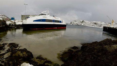 Her ble den mest forurensede prøven tatt. Avstanden til Lerøy-anlegget, der slaktemoden laks svømmer, er 360 meter. Foto: Ola Solvang