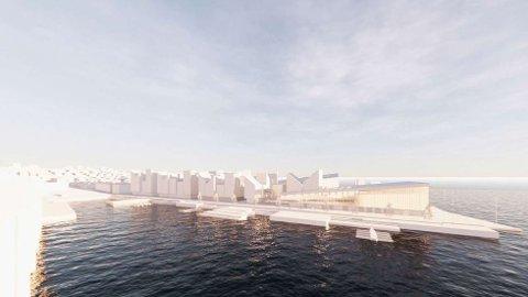 Dette er Peabs visjon for Tromsøs nye storstue, Tromsø spektrum.