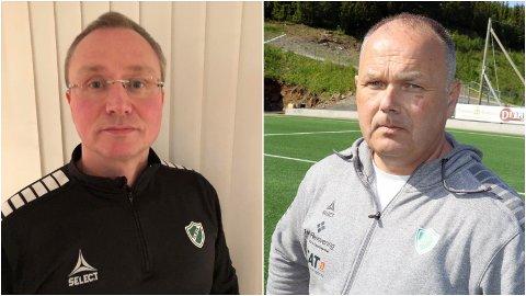 FLØYA-LEDERE: Styreleder Petter Dahl er tydelig på at sportslig leder Bård Bergvoll fortsatt har tillit i rollen etter klubbens trøblete trenerjakt for A-laget på herresiden.