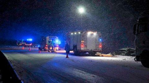 DØDE: Charlie Dan Lind (22) ble livstruende skadet etter en kollisjon med et vogntog på E8. 21. mars døde han på sykehus.