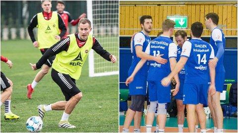 I AKSJON: Morten Gamst Pedersen, Onni Valakari og TIL spiller sin andre treningskamp i Tyrka på lørdag, mens BK Tromsø-guttene går på en særdeles avgjørende bortehelg i eliteserien i volleyball. Alt og mye mer til ser du direkte på Nordlys.no i helga.